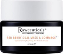 rawceuticals red berry dual mask